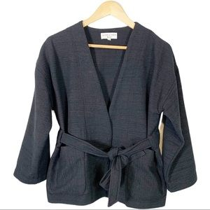 Madewell Open Front Wrap Jacket Size Small